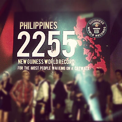 A new Guinness world record for the Philippines